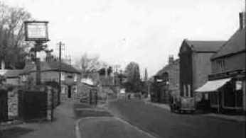 Photo of Duston Main Road c1955 from the Francis Frith Collection